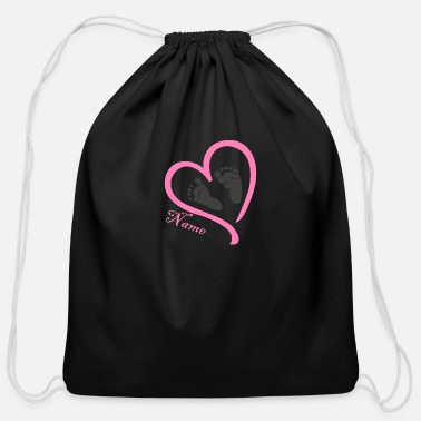 Name Day Name - Cotton Drawstring Bag