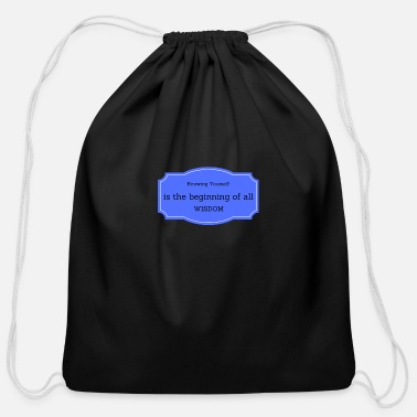 Wisdom WISDOM - Cotton Drawstring Bag