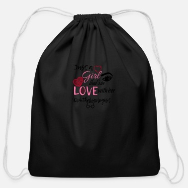 Ophthalmologist A girl that's in love with her ophthalmologist - Cotton Drawstring Bag