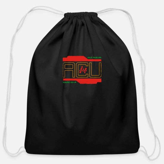Game Bags & Backpacks - Isla Nublar ACU - Cotton Drawstring Bag black