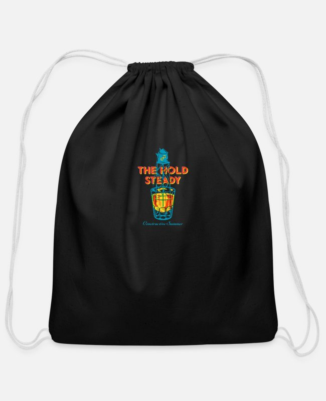 Rock Bags & Backpacks - The Hold Steady - Cotton Drawstring Bag black