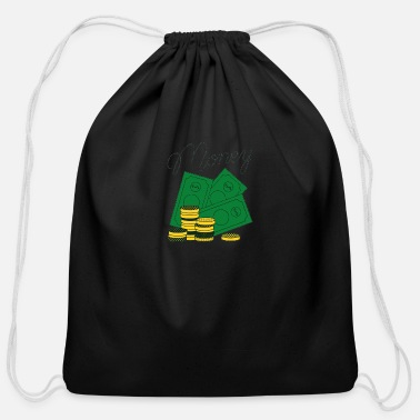 Vector Money Vector - Cotton Drawstring Bag