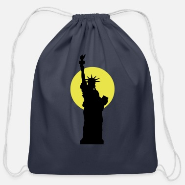 America liberty - Cotton Drawstring Bag