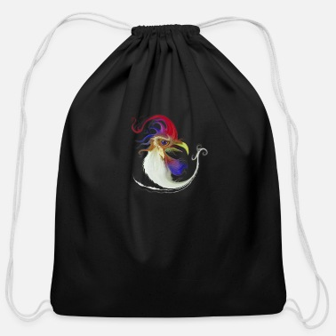 Chicken Coop You know ... A lot of problems at the chicken coop - Cotton Drawstring Bag