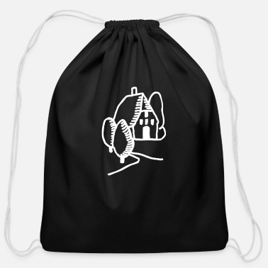 Countryside Countryside House - Cotton Drawstring Bag