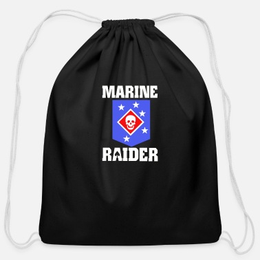 Raider Marine Raiders - Cotton Drawstring Bag