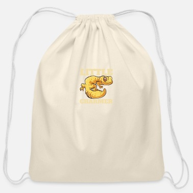 Hipster Reptiles - Gecko Cute Charmer Pet - Zoo - Cotton Drawstring Bag