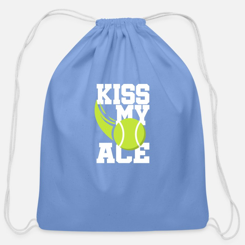 4bc989113f12 Tennis Ace Ball Shirt Gift Tennis Player Coach Cotton Drawstring Bag ...