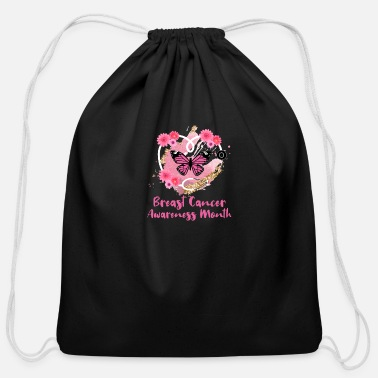 Breast Cancer Awareness Month Breast Cancer Awareness Month - Cotton Drawstring Bag