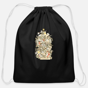 Rodent Bad Tempered Rodents - Cotton Drawstring Bag