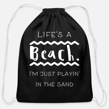 Quotes Quotes - Cotton Drawstring Bag