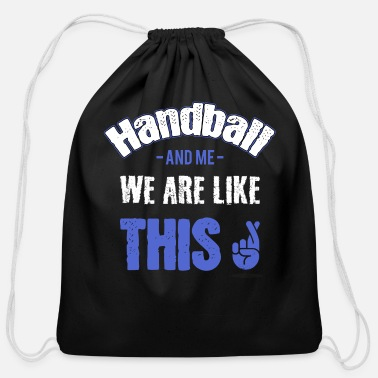 Handball Handball Handballer - Cotton Drawstring Bag