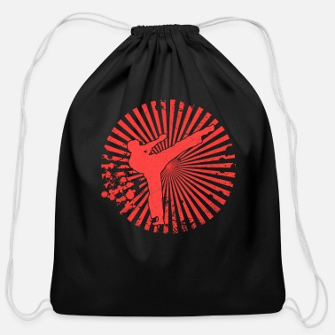 Shotokan Karate martial arts shotokan karate - Cotton Drawstring Bag