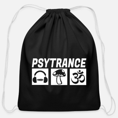 Rave PSYTRANCE GOA - Cotton Drawstring Bag