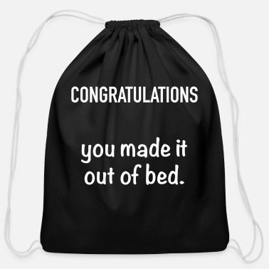 Congratulations Congratulations - Cotton Drawstring Bag