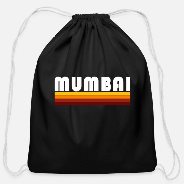 Mumbai mumbai - Cotton Drawstring Bag