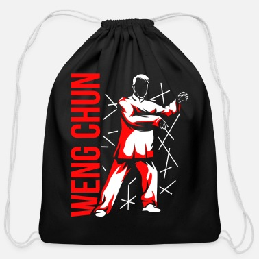 Weng Weng Weng Chun Gift - Cotton Drawstring Bag