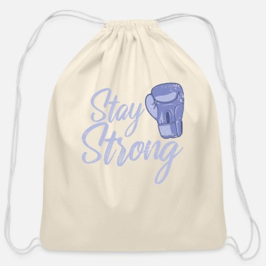 World Champion Boxing Stay Strong - Cotton Drawstring Bag