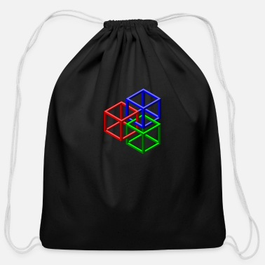 Clip Art clip art geometric designs - Cotton Drawstring Bag
