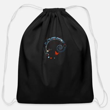 Playground Digital Playground - Cotton Drawstring Bag