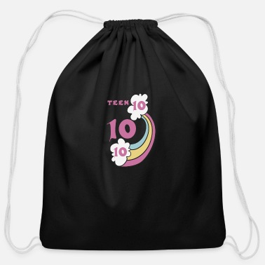 Teen teen - Cotton Drawstring Bag