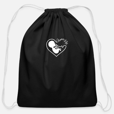 Pro Anti Abortion Pro Life Christian Republican Ban - Cotton Drawstring Bag