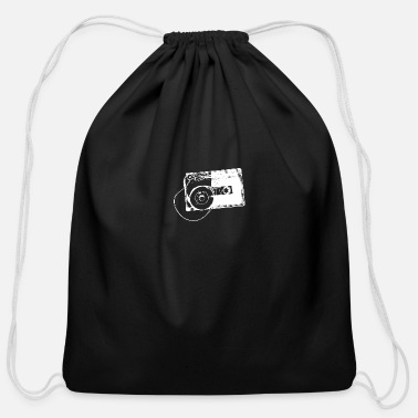 Audio Cassette Audio Tape Music 90s 80s Retro Gift - Cotton Drawstring Bag
