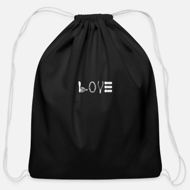 Love Dentist Dental Instruments Tote Bag - black