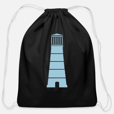 Lighthouse lighthouse - Cotton Drawstring Bag