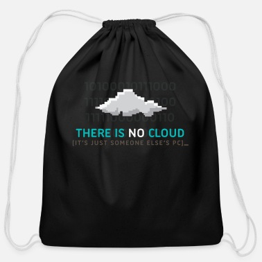 Cloud There Is No Cloud - Cotton Drawstring Bag
