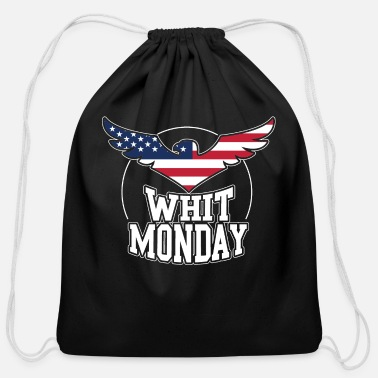 Pentecostal Whit Monday Holy Gift Idea T-Shirt - Cotton Drawstring Bag