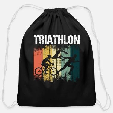 Retro Triathlon Athlete Bike Swim Run Triathlete Computer Backpack Spreadshirt