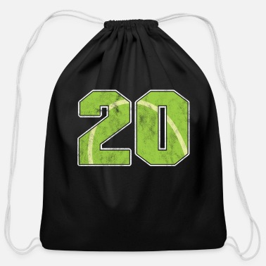 Year Of Birth Tennis Ball 20 th Birthday Celebration Sports Gift - Cotton Drawstring Bag
