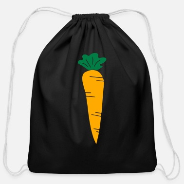 Carrot carrot - Cotton Drawstring Bag