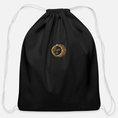 Sun the sun - Cotton Drawstring Bag