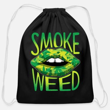 Smoke Weed SMOKE WEED - Cotton Drawstring Bag