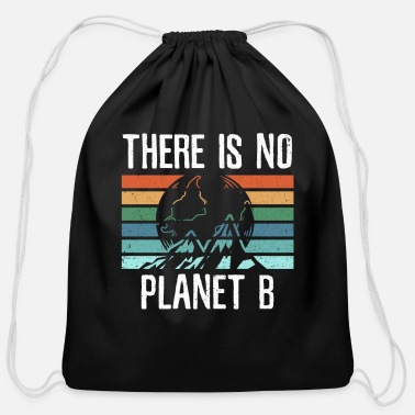 Planet Save The Planet - Cotton Drawstring Bag