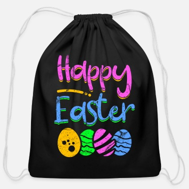 Easter Egg Easter Egg - Cotton Drawstring Bag
