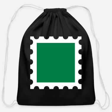Stamp Stamp - Cotton Drawstring Bag