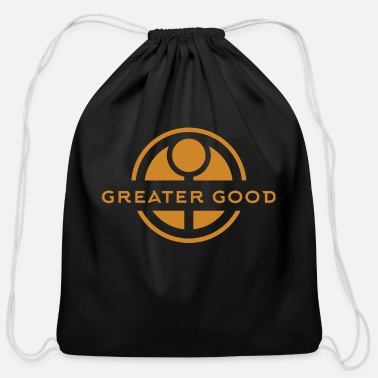 Greater For the Greater Good - Cotton Drawstring Bag
