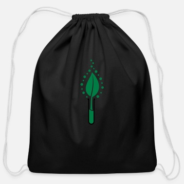 Leaf Leaf - Cotton Drawstring Bag