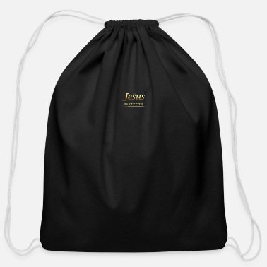 Jesus' Life Matters. Jesus Christ Savior Vintage C - Cotton Drawstring Bag