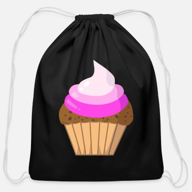Cupcake Cupcake Cupcakes - Cotton Drawstring Bag