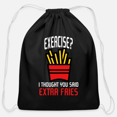 Funny Gym Funny Gym - Cotton Drawstring Bag