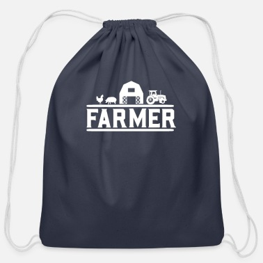 Farmer Farmer Farmer Farmer Farmer - Cotton Drawstring Bag