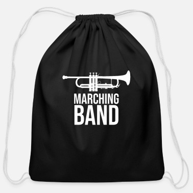 Band Marching Band - Cotton Drawstring Bag