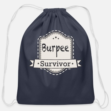 Pain Fitness - Burpee Survivor - Cotton Drawstring Bag