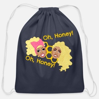 Oh Honey - UNHhhh - Cotton Drawstring Bag