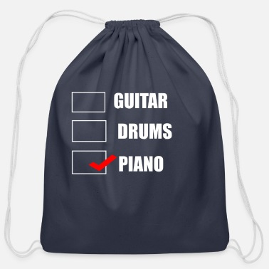 Musical Instrument MUSICAL INSTRUMENT - Cotton Drawstring Bag