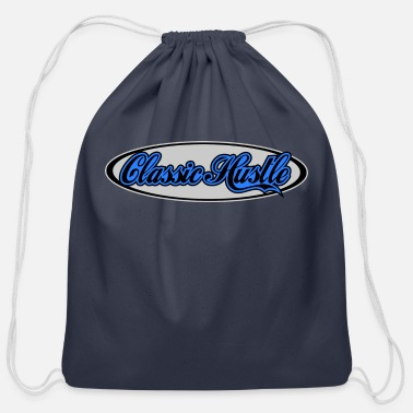 Haze Blue haze - Cotton Drawstring Bag